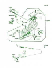 Kawasaki Koppelings Pomp GTR1000 (86-91)