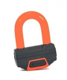 schijfremSLOT Oranje (ART goedgekeurd) Motor slot  inclusief koordje (rSRSgo) (hangslot Art)