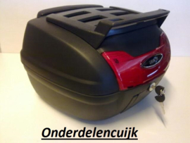 TOPKOFFER 40 Liter met Rugsteun en Rekje (507550uPR17tokof40)