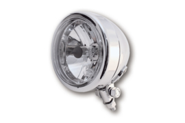 Spotlight Chroom (metaal)  110mm 12v H4 60/55w