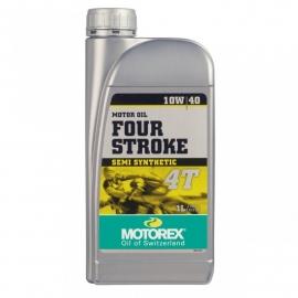 10w40 Motorolie Motorex FOUR STROKE (deelsyntheet) JASO-MA2(sG sh sJ sL) 1 liter (m10w40f <zzrhd>     s) [zzvt700c]