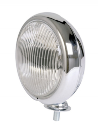 Spotlight Chroom 126mm 73mm(diep) H3 lamp.. (mfn)