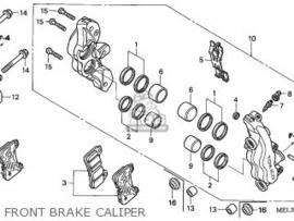 voor Remklauw REPARATIESET Honda CBR1000rr (2004-2016).