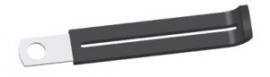 KLEM metaal kunstof bekleed 6mm gat (80mm lang) (c1407k)