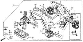 VF750c Magna 1982 Carb 1