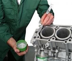 Vloeibaar metaal (2 componenten epoxy) Aluminium reparatie (inm1a2)