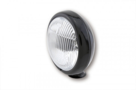 Spotlight Zwart 126mm 73mm(diep) H3 lamp.. (mfn)
