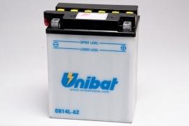 motor accu 12N14-3a -->> accu YB14L-a2 (r1502a) (tvoa0619)