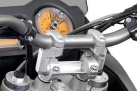 STUURVERHOGERS Risers Stuurverzetters 28mm (zilver),