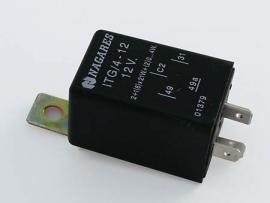 knipperlicht RELAIS 4 pins (ivm aanhanger) (Pknrel021)