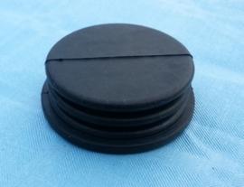Rubber (onder deksel van rem of koppeling pomp) Rond 48mm (c1511r) Origineel