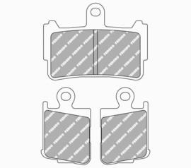 Ferodo REMBLOKKEN Honda VFR1200f (10-14+)) VOOR (ptiy2259S)>(H2259S)
