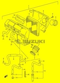 SUBFILTER Suzuki RF600r