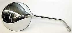 Spiegel Chroom Rond m10x1.25  L=R
