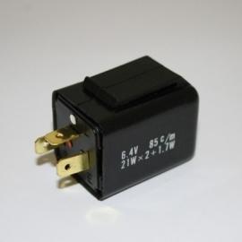 6v knipperlicht RELAIS 3 pins 10á21w (Pknrel015)
