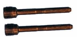 Remblokpen set (m10x1.00)  4.6x40-53mm (zbb)