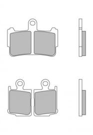 REMBLOKKEN Honda VFR1200f (10-14+) VOOR (ptiy2259S)>(R037saS)