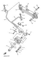 Olieleiding Yamaha XJ900s RECHTS (1995-....)..