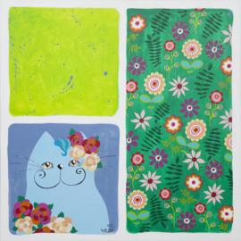 Schilderij | Bloom like a flower