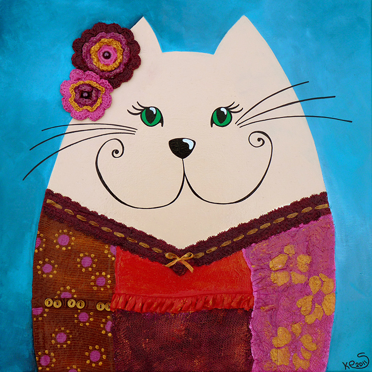 Schilderij   Tante Victoria