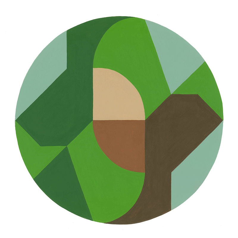 Abstract | Rondje bos mei