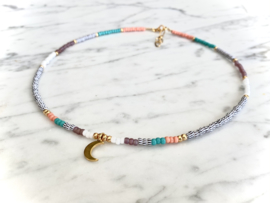MBR necklace *Love by the moon*