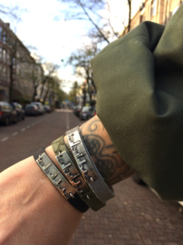 Mokkels & gozers *army green leather*