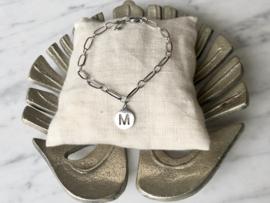 MBR Bracelets *Silver Initial*