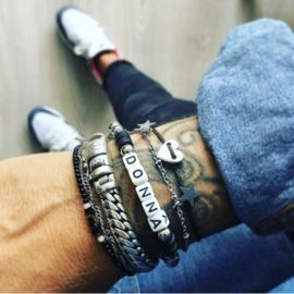 Name Bracelet *RVS 6mm kraal *