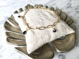 MBR Bracelet *Protected love* goud of zilver