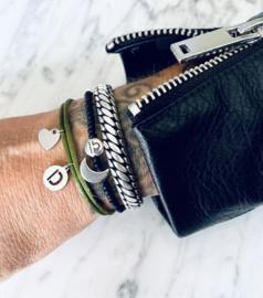 MBR Bracelet *satijnen armband met initialen*