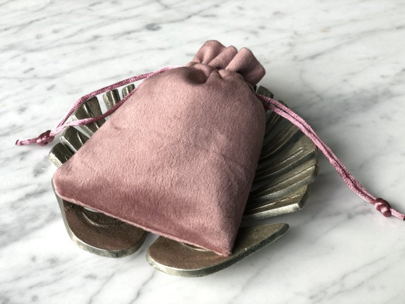 Kado zakje *vintage pink*