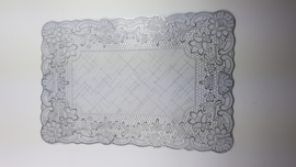 placemats zilver