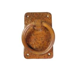deurklink  ring pull L-br