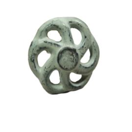 """metal knob """"wheels"""""""