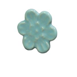 "porseleinen knop ""blue flower"""