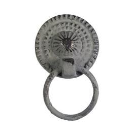 """Greep """"ring pull"""" /grijs"""