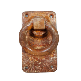 deurklink ring pull-S/br