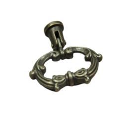 """deurknop/ladegreep """"antiques oval"""""""