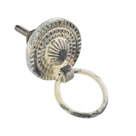 ring pull/ wit antiek