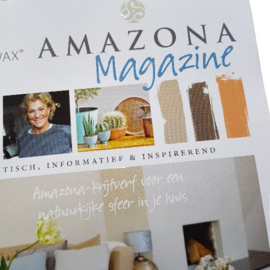 Amazona  krijtverf Magazine