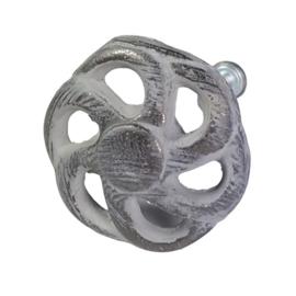 deurknop rond distressed MK24/G