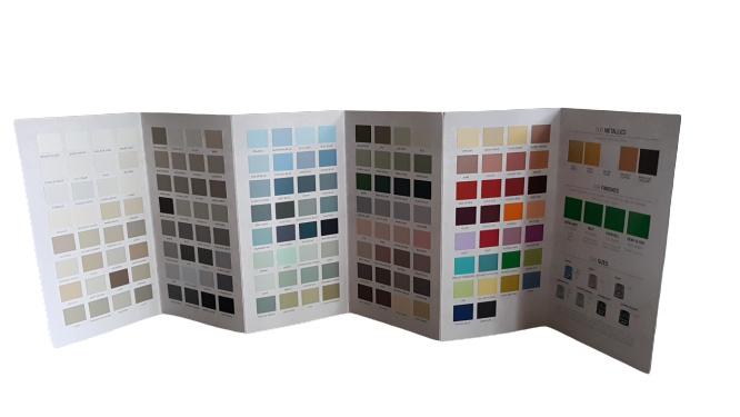 Autentico kleurenkaart 150 kleuren