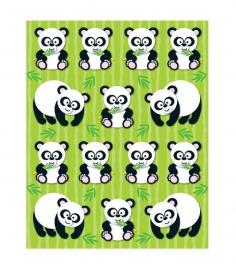 Panda Vorm Stickers - 14st