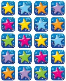 Kleurrijke Sterren - 20 Stickers