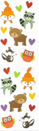 Bosvriendjes - 20 Stickers
