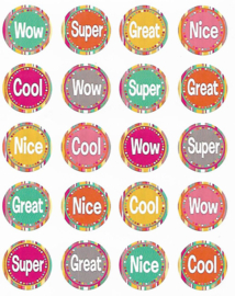 Complimentjes Wow! - 20 Stickers