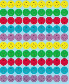Smileys Multicolour - 90 stickers
