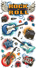 Rock N Roll - 25 stickers