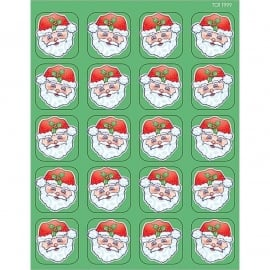 Kerstman - 20 Stickers